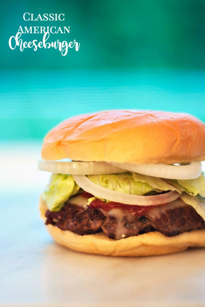 perfect classic american cheeseburger