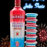 fourth of july jello shots