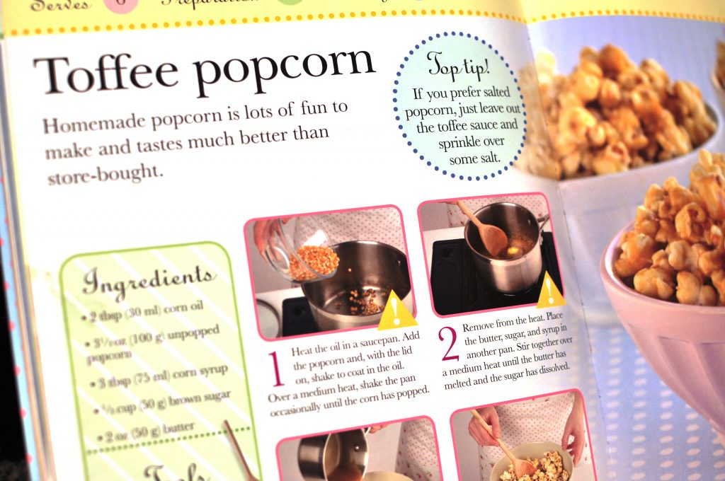 toffee popcorn for kids