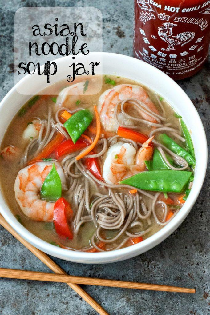 asian noodle soup jar