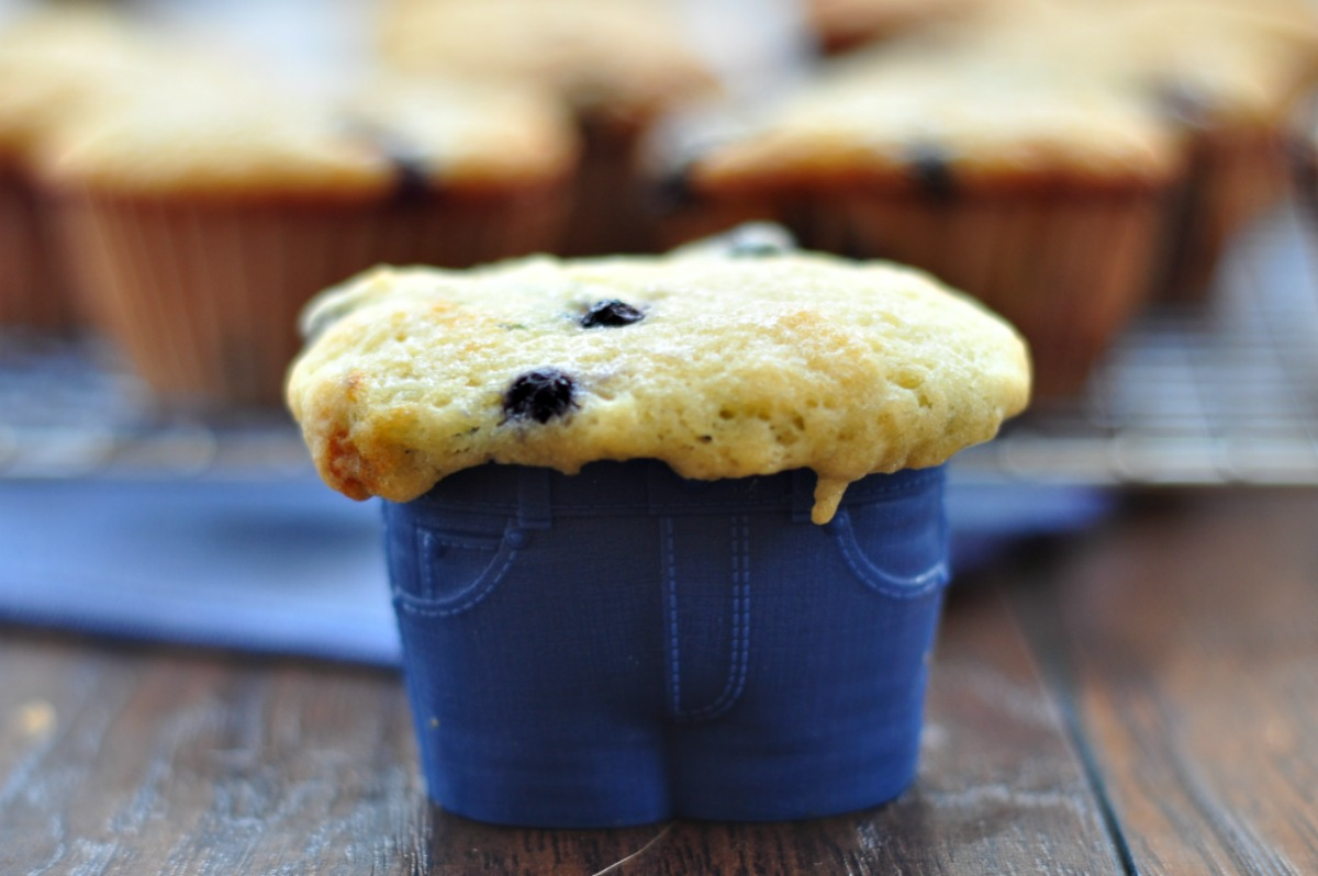 Classic Wild Blueberry Muffins