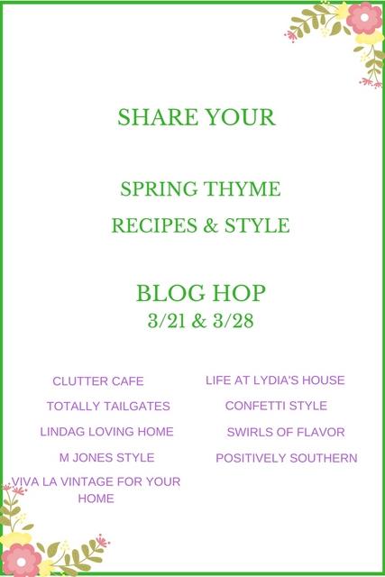 Spring Thyme blog hop