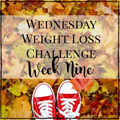 weight loss challenge week nine