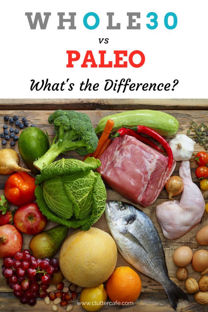 whole30 vs paleo what's the difference?