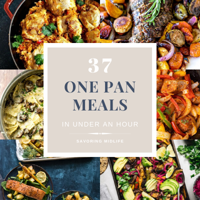 37 one pan meals ready in under an hour and make cleanup a breeze