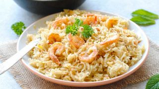 Prawns Pulao: Easy, Tasty and Bursting with Flavor