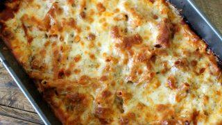 Easy Cheesy Baked Ziti Recipe - Tips for Busy Moms