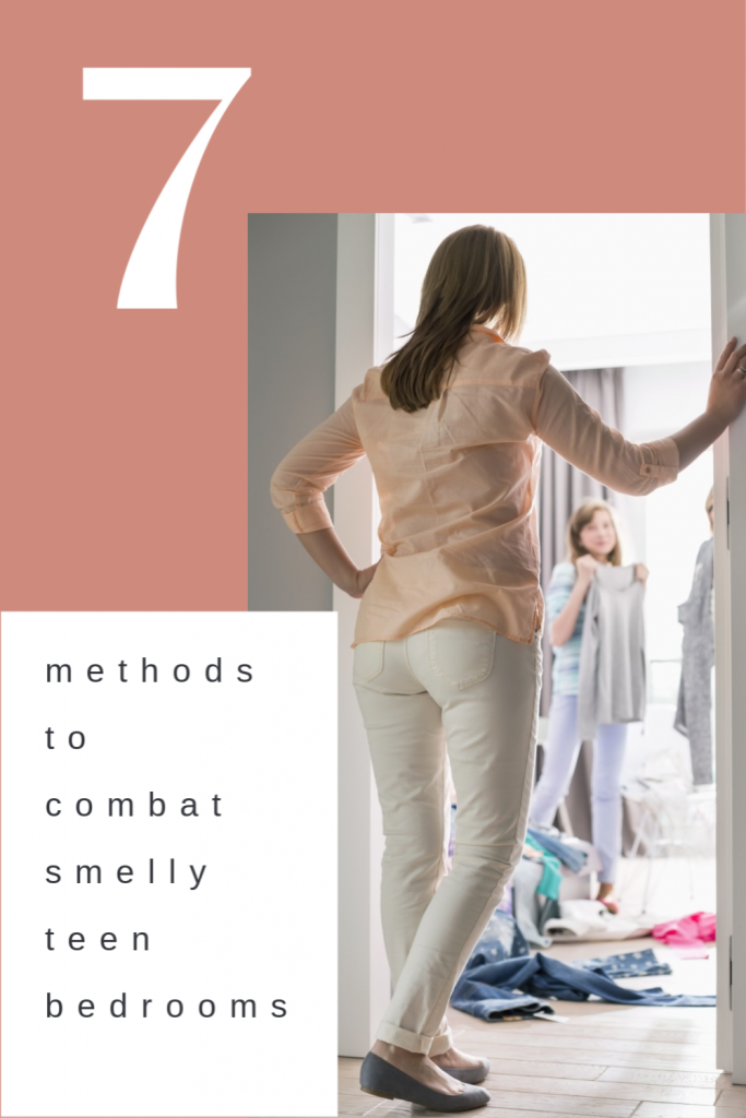 7 methods to combat smelly teen bedrooms