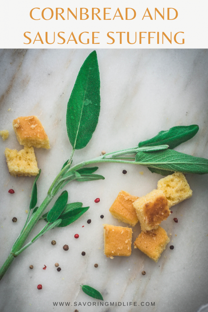 Sweet cornbread and savory Italian sausage combined with flavorful herbs for a delicious Southern inspired side for your holiday meal