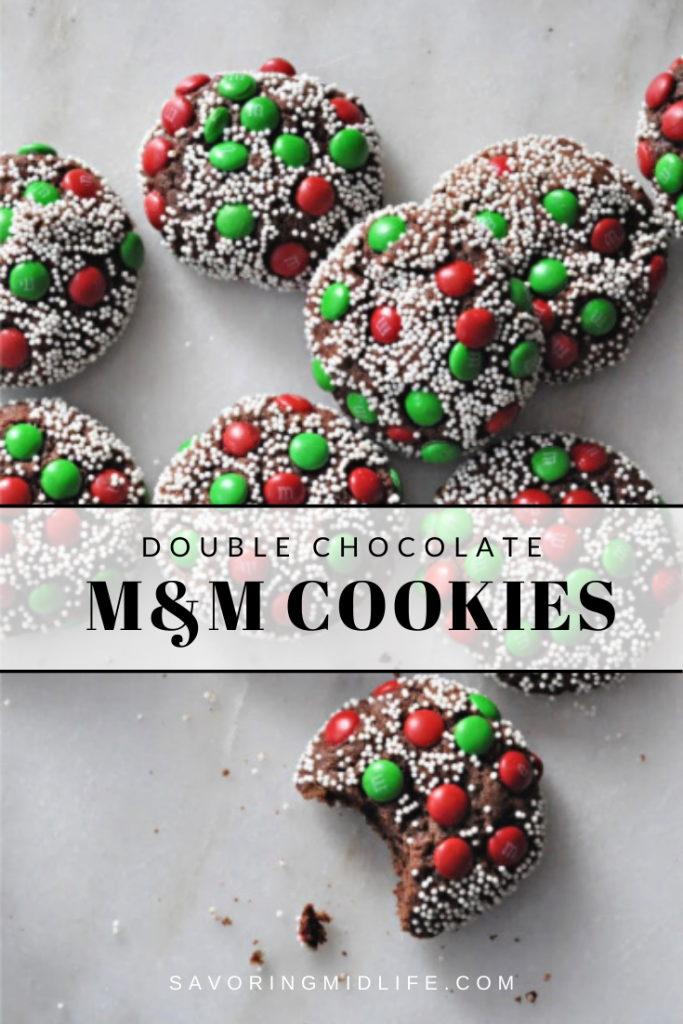 M&M Cookies with nonpareils