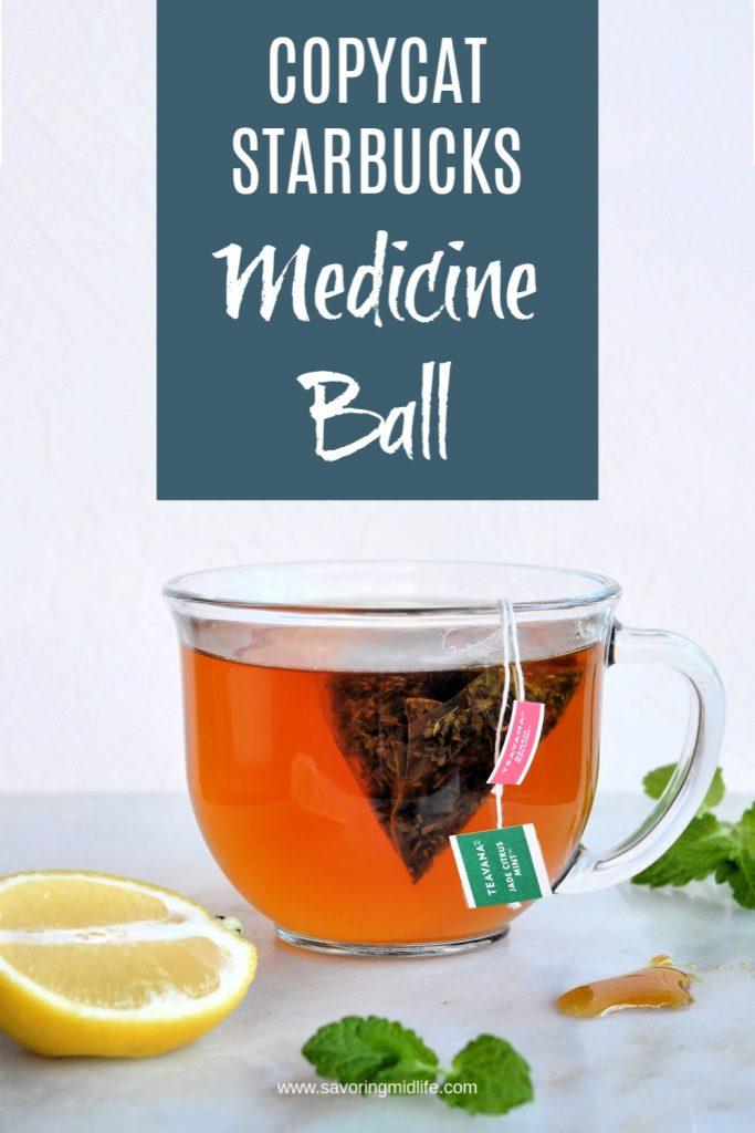 Copycat Starbucks Medicine Ball