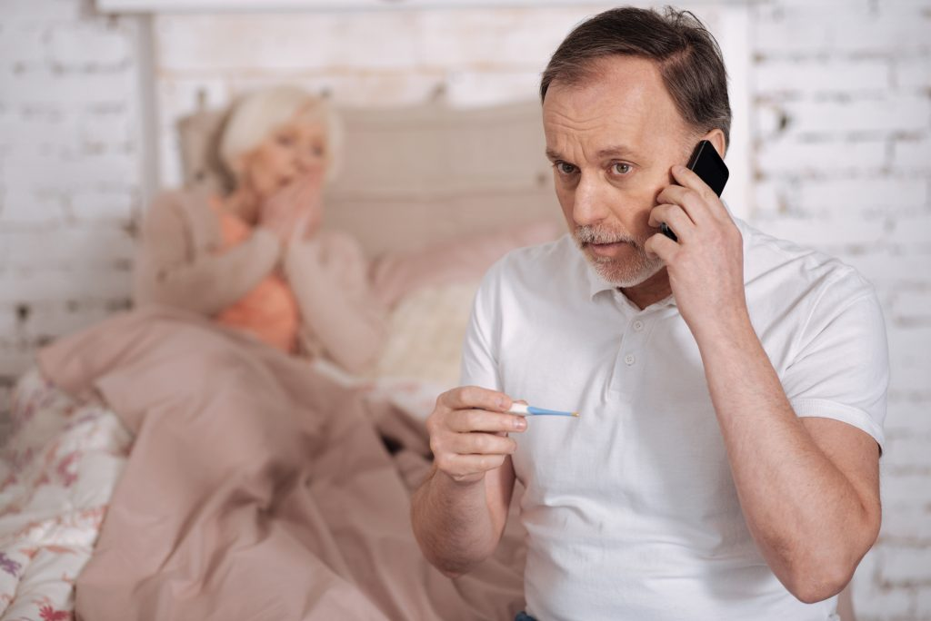 caring for elderly parents and high risk family members during the coronavirus pandemic