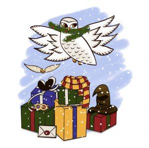 Harry Potter Christmas marathon